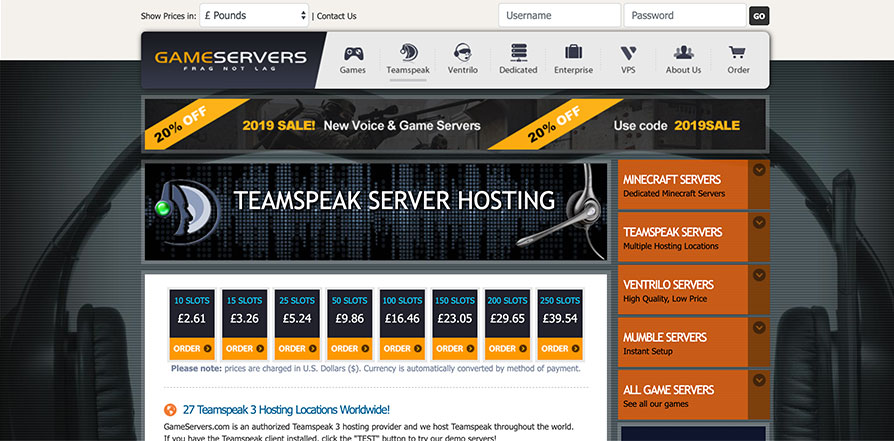 best teamspeak host review